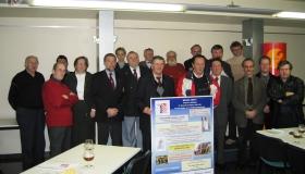 19/01/2004: PERSCONFERENTIE WERKGROEP TRIVERIUS, de kiemen voor de oprichting van de Orde