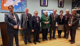 24/01/2015  Algemene vergadering van de Orde + Opname 5 nieuwe leden