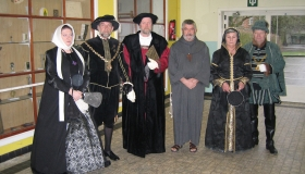 31/01/2004 Ontvangst Dr. Triverius of de blijde intrede van de figuur Triverius te Brakel