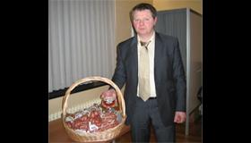 26/01/2008 Nieuw culinair streekprodukt: Triverius droog-worst