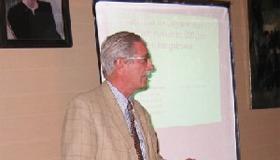 13/10/2006 Bijspijkeren kennis Triverius met Prof. Robrecht Van Hee